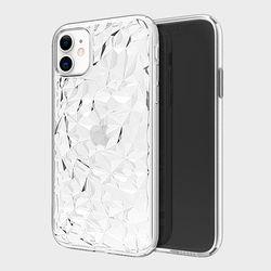 베리핏 다이아 패턴 투명 젤리 케이스 핸드폰 휴대폰 케이스
