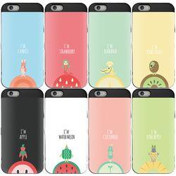 SKINU 그래픽 카드수납 아이폰11(젠더포함)-과일친구들