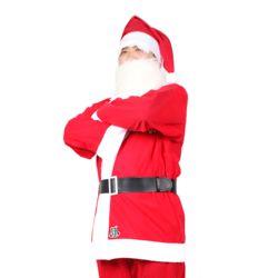 산타복+모자+벨트[성인용]일반3종