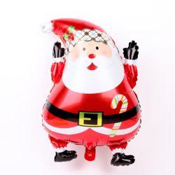 크리스마스 은박풍선 주니어쉐입 (산타)