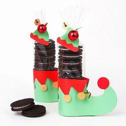 [금박] 요정이 두고간 방울 신발 opp + 데코페이퍼 2set