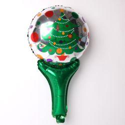 크리스마스 손잡이 은박풍선[트리]