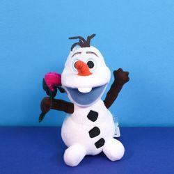 정품 디즈니 올라프 인형 겨울왕국2 가방고리 20cm