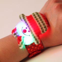 LED점등 눈사람-인형팔찌