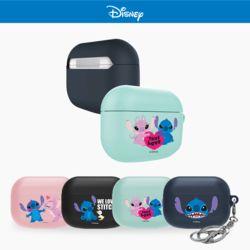 에어팟프로케이스 3세대 정품 디즈니 스티치 키링세트