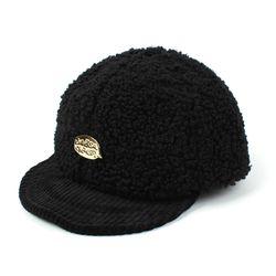 Fleece GDMT Black Bike Cap 플리스바이크캡