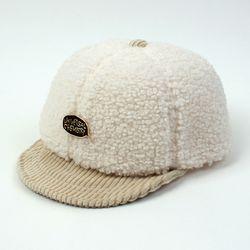 Fleece Ivory Bike Cap 플리스바이크캡