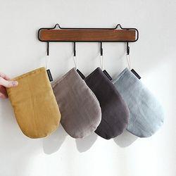 후스 헤링본 주방장갑 (4color)