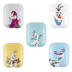 디즈니 겨울왕국 파스텔 에어팟 하드케이스 올라프 5종