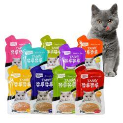고양이간식 쮸루쮸루 고양이 종합 영양간식 30g