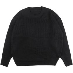 NELL OVERFIT KNIT (BLACK)
