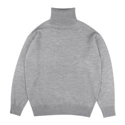 BASIC OVERFIT POLAR NECK (GRAY)