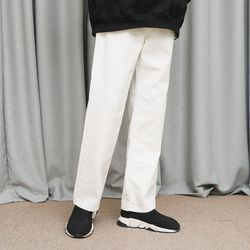 STRAIGHT WIDE WHITE JEANS (WHITE)