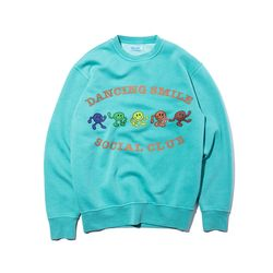 Dancing Smile SWEAT (leaf green)