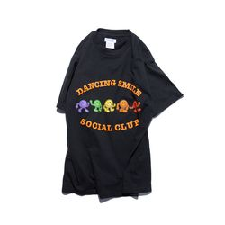 Dancing Smile TEE (vintage black)