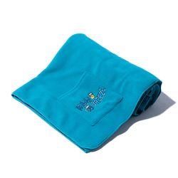 Fleece Pocket BLANKET (turquoise)