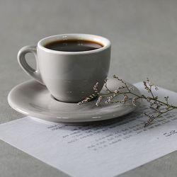 도톰 에스프레소잔 커피잔 세트 80ml