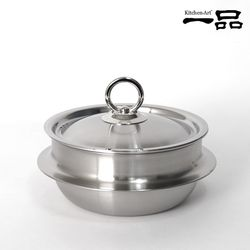 키친아트 일품 통5중 스테인레스 가마솥 16cm