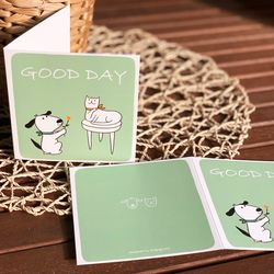 GOOD DAY 일러스트 카드