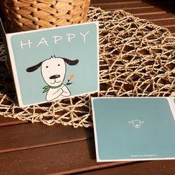 HAPPY 일러스트 카드