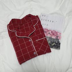 올두잇 에센셜 체크 면잠옷