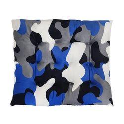 푹신한 강아지쿠션 대진 숄져 사각방석(블루)