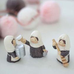 봉사 수녀 3P세트