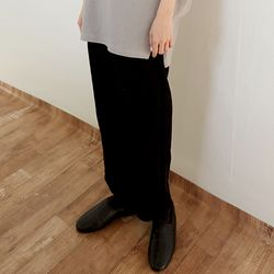 floppy corduroy pants (3colors)