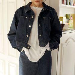 deep denim jacket (denim)