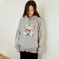 cutie bear hoody (2colors)