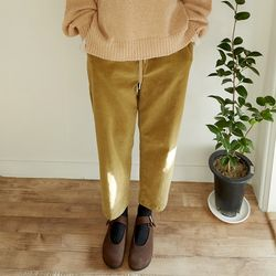 banding light corduroy pants (2colors)