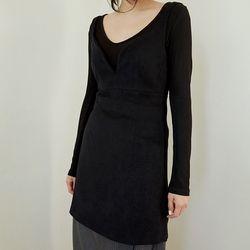 soft petit mini dress (2colors)