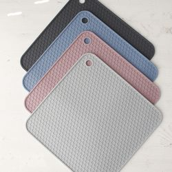 인덕션 실리콘보호 매트 깔개 냄비받침 식기건조매트