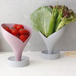 야채 과일 물빠짐 접시