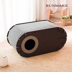 런메이크 마약하우스 고양이집-스크래쳐 하우스 침대 장난감