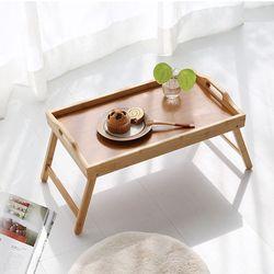 원목 간이테이블 좌식테이블 침대테이블