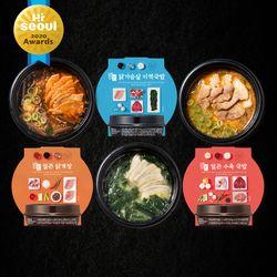 [무료배송] 밀스원 간편국밥 도시락 3종 9팩 (각 3팩)