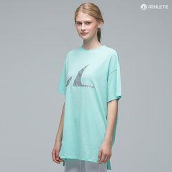 Y존 힙커버 오버핏 남녀공용 HRT14 선데이 티셔츠쿨민트