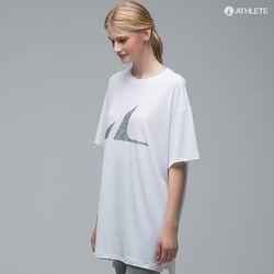 Y존 힙커버 오버핏 남녀공용 HRT14 선데이 티셔츠샤베트화이트