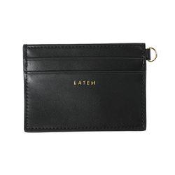 심플 미니 카드지갑 블랙(AG2H02R1DKBB)