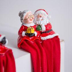 산타 부부 장식