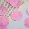 둥근 자개 10개(핑크 5cm)