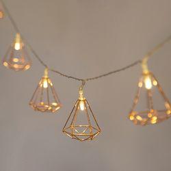 다이아몬드 전구(10구-2.2m)