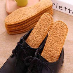 신발깔창 방한용품 양털깔창 융털보온깔창