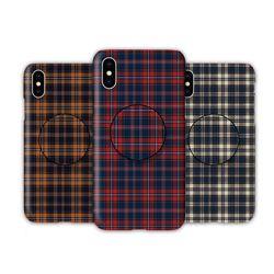 아이폰8 TC-타탄체크 스마트톡 하드 케이스