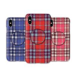 아이폰8 TC-컬러풀체크 스마트톡 하드 케이스