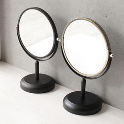 스탠드 블랙골드 거울 (5730)