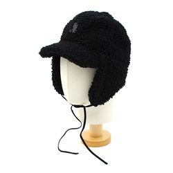 Thunder Black Fleece Earflap Cap 귀달이모자