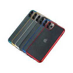 아이폰7플러스 컬러 샤이닝 라인 젤리 케이스 P411