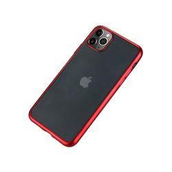 아이폰11프로맥스 컬러 샤이닝 라인 젤리 케이스 P411